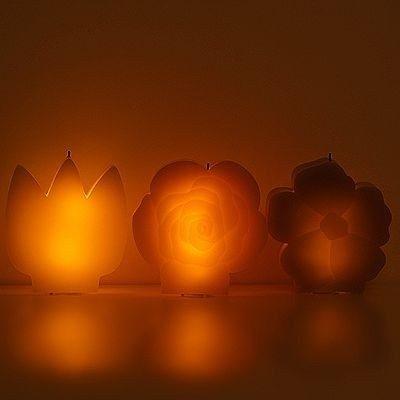 Shopping - Ratgeber ELAMBIA_flammenlose_Kerze_Blumenform-400x400 Tipp: Flammenlose Kerzen zur Lichtgestaltung des Wohnbereichs