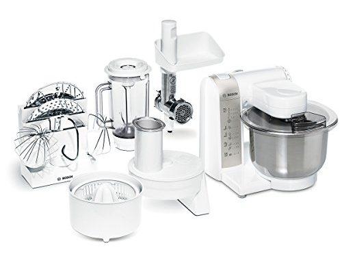 Shopping - Ratgeber bosch-mum4880-kchenmaschine-mum4-600-watt-edelstahl-rhrschssel-500x400 Küchenmaschinen mit Mixer-Aufsatz, Fleischwolf, Zitruspresse - Produkttipp