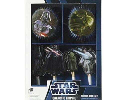 Shopping - Ratgeber muffinset-star-wars-galactic-empire-48tlg-500x400 Die richtige Deko für Starwars Fans