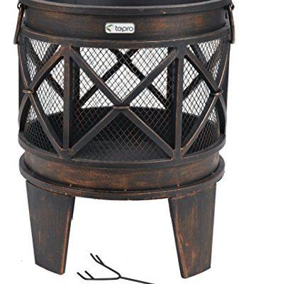 Shopping - Ratgeber tepro-1127-gracewood-fire-basket-bronze-12-piece-423x400 Feuerkorb und Feuerstellen für den Garten